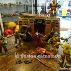 Figuras y Muñecos Tortugas Ninja: TORTUGAS NINJA. NINJA TURTLES. LOTE VARIOS MUÑECOS Y ACCESORIOS. VER FOTOS. Lote 242264910