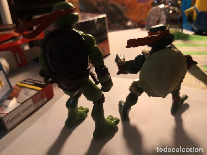 Figuras y Muñecos Tortugas Ninja: 2 figuras coleccionables serie tortugas ninja playmates toys año 2000 - Foto 4 - 245024860