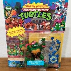 Figuras y Muñecos Tortugas Ninja: TMNT - TORTUGAS NINJA - BREAKFIGHTIN' RAPHAEL - (¡NUEVO EN BLISTER!). Lote 245095805
