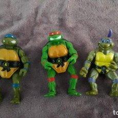 Figuras y Muñecos Tortugas Ninja: TMNT 3 MUÑECOS TORTUGAS NINJA MIRAGE STUDIOS PLAYMATES TOYS 1992. Lote 245208980