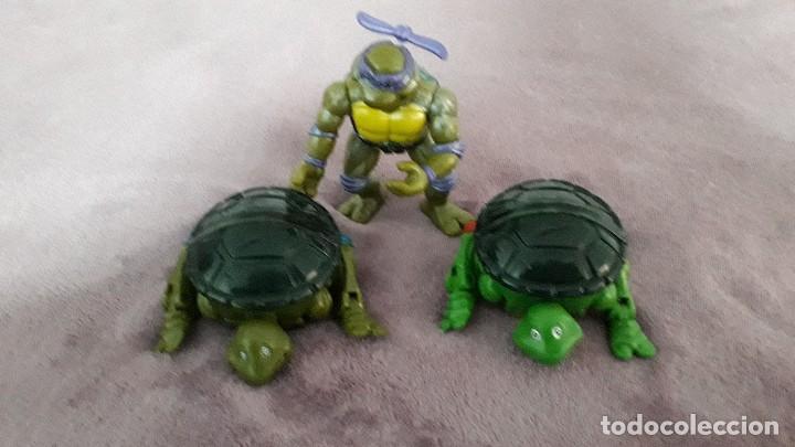 Figuras y Muñecos Tortugas Ninja: TMNT 3 muñecos Tortugas Ninja Mirage Studios Playmates Toys 1992 - Foto 2 - 245208980