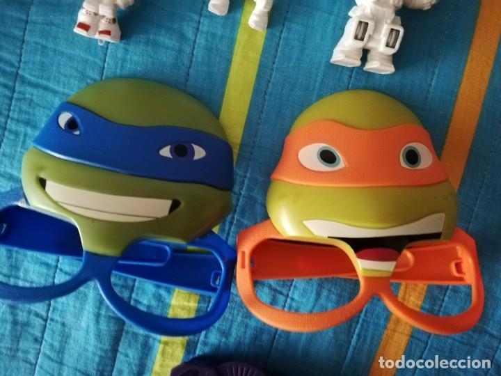 Figuras y Muñecos Tortugas Ninja: LOTE TORTUGAS NINJA MCDONALDS VIACOM 2016 - Foto 4 - 245215185