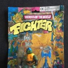 Figurines et Jouets Tortues Ninja: TORTUGAS NINJA HEROES OF THE WORLD KNOCK OFF. Lote 245507235