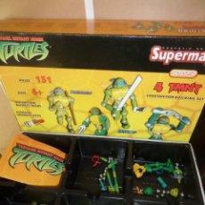 Figuras y Muñecos Tortugas Ninja: TORTUGAS NINJA / TEENAGE MUTANT NINJA TURTLES 4 TMNT - SUPERMAG - DISPONGO DE MAS JUGUETES. Lote 245571095