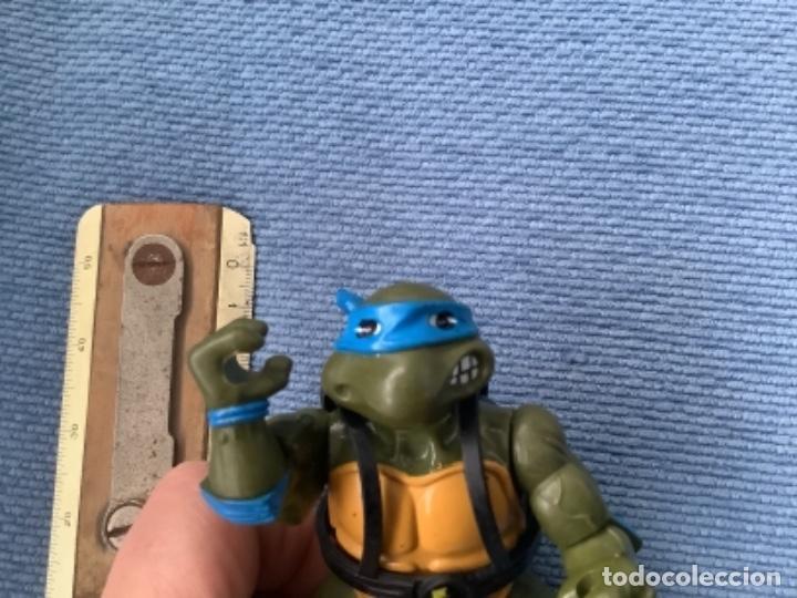 Figuras y Muñecos Tortugas Ninja: TORTUGAS. NINJA BANDAI LEONARDO 2008 - Foto 2 - 246117200