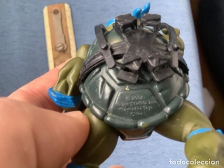 Figuras y Muñecos Tortugas Ninja: TORTUGAS. NINJA BANDAI LEONARDO 2008 - Foto 4 - 246117200