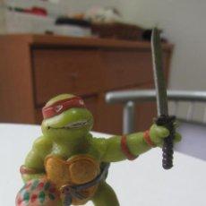 Figuras y Muñecos Tortugas Ninja: FIGURA PVC MUÑECO GOMA DURA TORTUGA NINJA 1988 YOLANDA NCN1. Lote 246330765