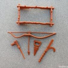 Figuras y Muñecos Tortugas Ninja: PACK ARMAS TMNT. SPLINTER. ACCESORIOS ORIGINALES TORTUGAS NINJA RATA PROFESOR PLAYMATE TOYS ARMA. Lote 247399505