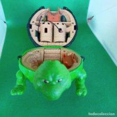 Figuras y Muñecos Tortugas Ninja: RAPHAEL & ROCKSTEADY - POCKET TMNT - MIRAGES STUDIOS 1994 - PLAYMATES TOYS - LAS TORTUGAS NINJA. Lote 250160430