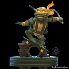 Figuras y Muñecos Tortugas Ninja: FIGURA MICHELANGELO 15 CM - TEENAGE MUTANT NINJA TURTLES - Q-FIG. Lote 251368335
