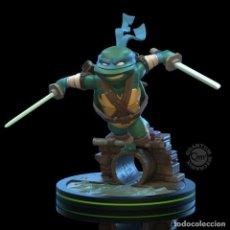 Figuras y Muñecos Tortugas Ninja: FIGURA LEONARDO 15 CM - TEENAGE MUTANT NINJA TURTLES - Q-FIG. Lote 251369405