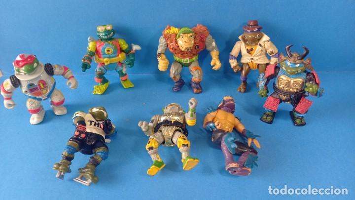 BRUTAL FIGURAS TORTUGAS NINJA MIRAGE STUDIOS 1990/91 PLAYMATES TOYS (Juguetes - Figuras de Acción - Tortugas Ninja)