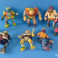 Figuras y Muñecos Tortugas Ninja: BRUTAL FIGURAS TORTUGAS NINJA MIRAGE STUDIOS 1990/91 PLAYMATES TOYS. Lote 254538140