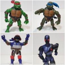 Figuras y Muñecos Tortugas Ninja: LOTE 4 MUÑECOS TORTUGAS NINJAS - AÑO 2002 - 2003 - MIRAGE STUDIOS, INC / PLAYMATES TOYS. Lote 257901075