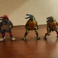 Figuras y Muñecos Tortugas Ninja: LOTE DE 5 FIGURAS TORTUGAS NINJA 2003 - PLAYMATES. Lote 262231995