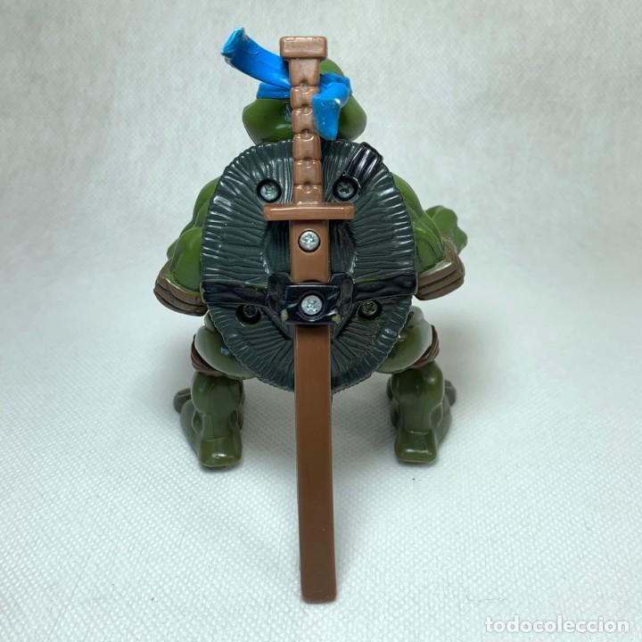 Figuras y Muñecos Tortugas Ninja: TORTUGAS NINJAS - LEO - LEONARDO - FIGURA - MIRAGE STUDIOS - PLAYMATES TOYS - AÑO 2004 + ARMA - Foto 2 - 262446285