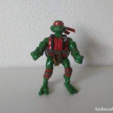 Figuras y Muñecos Tortugas Ninja: FIGURA RAPHAEL RAPH TORTUGAS NINJA MIRAGE STUDIOS PLAYMATES TOYS 2005. Lote 262745115