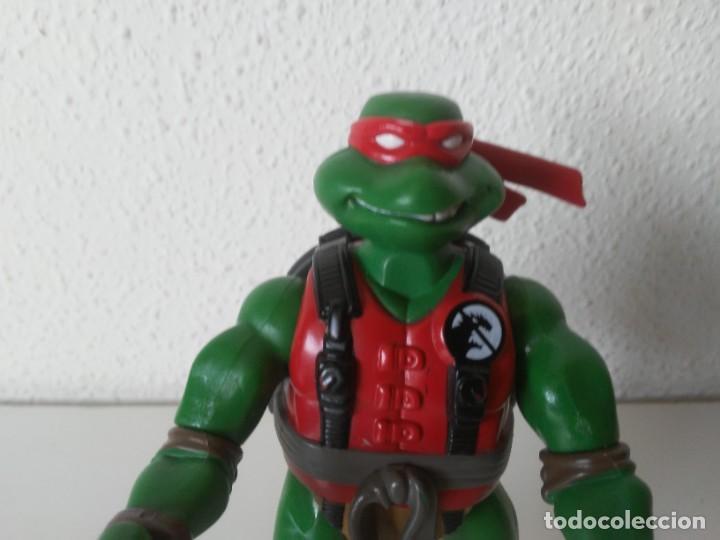 Figuras y Muñecos Tortugas Ninja: Figura Raphael Raph Tortugas Ninja Mirage Studios Playmates Toys 2005 - Foto 2 - 262745115