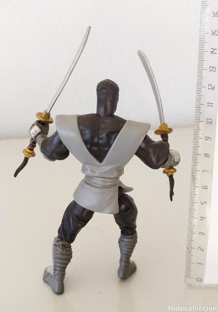 Figuras y Muñecos Tortugas Ninja: Figura acción tortugas ninja tmnt 2002 playmates soldado clan pie muñeco foot soldier - Foto 2 - 262817380