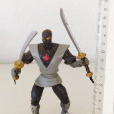 Figuras y Muñecos Tortugas Ninja: FIGURA ACCIÓN TORTUGAS NINJA TMNT 2002 PLAYMATES SOLDADO CLAN PIE MUÑECO FOOT SOLDIER. Lote 262817380