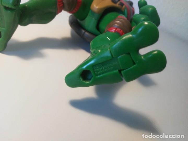 Figuras y Muñecos Tortugas Ninja: Figura Raphael Raph Tortugas Ninja Mirage Studios Playmates Toys 2005 - Foto 6 - 262745115