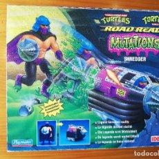 Figuras y Muñecos Tortugas Ninja: NINJA TURTLES TMNT MUTATIONS SHREDDER DESPEDAZADOR TORTUGAS NINJA 199 ROAD NUEVO IDEAL PLAYMATES. Lote 262967550