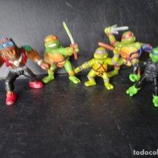 Figuras e Bonecos Tartarugas Ninja: FIGURAS TORTUGAS NINJA Y VILLANO BEBOP. Lote 263142520