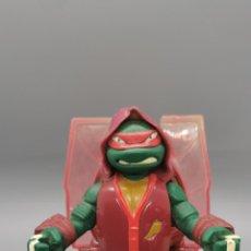 Figuras y Muñecos Tortugas Ninja: RAPHAEL THROW N' BATTLE - TORTUGAS NINJAS - TNMT - 2013 VIACOM - FIGURA DE ACCION - TORTUGA NINJA--. Lote 264223300