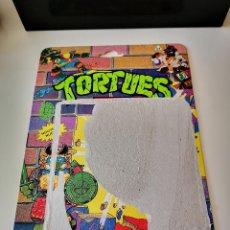 Figuras e Bonecos Tartarugas Ninja: CARTON TORTUGAS NINJA ORIGINAL BANDAI DE LOS 80 FIGURA ACCESORIO MUÑECO MIKE SURFERO. Lote 264325724