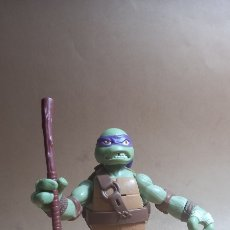 Figuras y Muñecos Tortugas Ninja: TORTUGA NINJA. DONATELLO. GRAN TAMAÑO, ARTICULADA, EMITE SONIDO, 16 CM. Lote 264997759