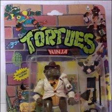 Figuras e Bonecos Tartarugas Ninja: FIGURA TORTUGA NINJA ORIGINAL EN BLISTER DON, THE UNDERCOVER TURTLE BANDAI AÑO 1988. Lote 265180614