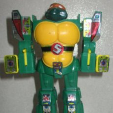 Figurines et Jouets Tortues Ninja: TORTUGAS NINJA TMNT ROBOT TRANSFORMERS BOOTLEG. Lote 266225748