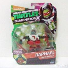 Figuras y Muñecos Tortugas Ninja: FIGURA RAPHAEL SPACE BATTLER - TORTUGAS NINJA TURTLES TMNT DIMENSION X PLAYMATES GIOCHI PREZIOSI TOY. Lote 267673639