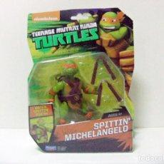 Figuras y Muñecos Tortugas Ninja: FIGURA SPITTIN´ MICHELANGELO - TORTUGAS NINJA TURTLES TMNT WATER POWER PLAYMATES GIOCHI PREZIOSI TOY. Lote 267675064