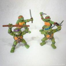 Figuras y Muñecos Tortugas Ninja: TORTUGAS NINJAS - LOTE DE 4 TORTUGAS NINJA - YOLANDA - MIRAGE STUDIOS - AÑO 1988 - DE 7 CM C/U. Lote 270548388