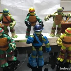 Figuras y Muñecos Tortugas Ninja: 6 TORTUGAS NINJAS 12 CENTIMETROS ARTICULADAS. Lote 271026938