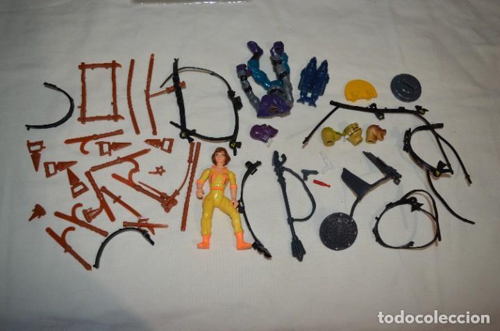 LOTE VARIADOS DE PIEZAS / ACCESORIOS - TURTLES / TORTUGAS NINJA Y OTRAS FIGURAS DE ACCIÓN - ¡MIRA! (Juguetes - Figuras de Acción - Tortugas Ninja)