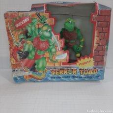Figuras y Muñecos Tortugas Ninja: TERROR TOAD BOOTLEG TORTUGA NINJA EN CAJA. Lote 271890153