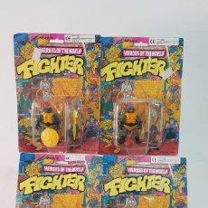 Figuras y Muñecos Tortugas Ninja: HEROES OF THE WORLD NINJA TURTLES BOOTLEG LOT. Lote 273523488