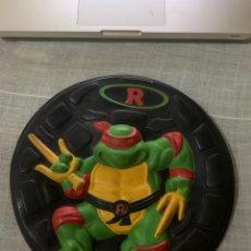 Figuras y Muñecos Tortugas Ninja: TORTUGAS NINJA RAFAEL RAFFAELLO RAPHAEL CIRCULO ROSCO TAPA TAPADERA CUBO AÑOS 80 ?. Lote 276580703