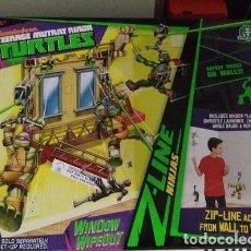 Figuras e Bonecos Tartarugas Ninja: TMNT NICKELODEON TORTUGAS NINJA WINDOW WIPEOUT GIOCHI PREZIOSI TEENAGE MUTANT NINJA TURTLES. Lote 185745236