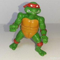 Figuras y Muñecos Tortugas Ninja: LAS TORTUGAS NINJA : ANTIGUA FIGURA DE RAPHAEL PLAYMATES MIRAGE STUDIOS AÑO 1988. Lote 278971363