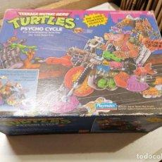 Figuras e Bonecos Tartarugas Ninja: TEENAGE MUTANT HERO TURTLES NINJA TORTUGAS PSYCHO CYCLE - BANDAI 1989. Lote 281009958