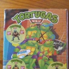 Figuras y Muñecos Tortugas Ninja: LAS TORTUGAS NINJA - ALBUM DE CROMOS COMPLETO 1990 PANINI -. Lote 285444223