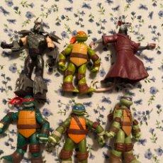 Figuras y Muñecos Tortugas Ninja: LOTE TORTUGAS NINJAS MUÑECOS ARTICULADOS. Lote 285631653