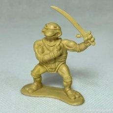 Figuras y Muñecos Tortugas Ninja: BOOTLEG LAS TORTUGAS NINJA - FIGURA LEONARDO PLASTICO PVC - THE MOVIE - 2002 - 5.5 CM. Lote 286149813