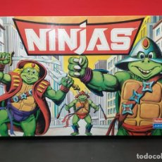 Figuras y Muñecos Tortugas Ninja: JUEGO DE MESA NINJA FAKE BOOTLEG TORTUGAS NINJA FALOMIR 1986. Lote 286799503