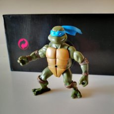 Figuras y Muñecos Tortugas Ninja: FIGURA PVC TORTUGA NINJA LEONARDO BANDAI PLAYMATES TOYS 2002 TORTUGAS. Lote 286928008