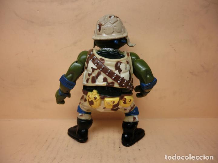 Figuras y Muñecos Tortugas Ninja: TMNT LEONARDO MILITARY LIEUTAENANT 1991 PLAYMATES - Foto 2 - 287110543