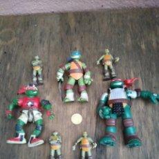 Figuras y Muñecos Tortugas Ninja: LOTE FIGURAS TORTUGA NINJA. Lote 287356403